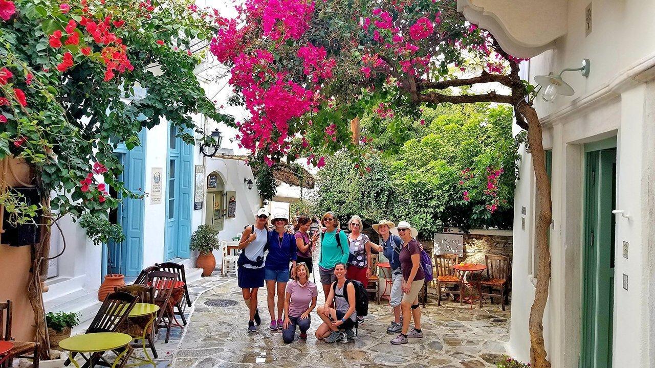 Greece retreat 2019 group photo