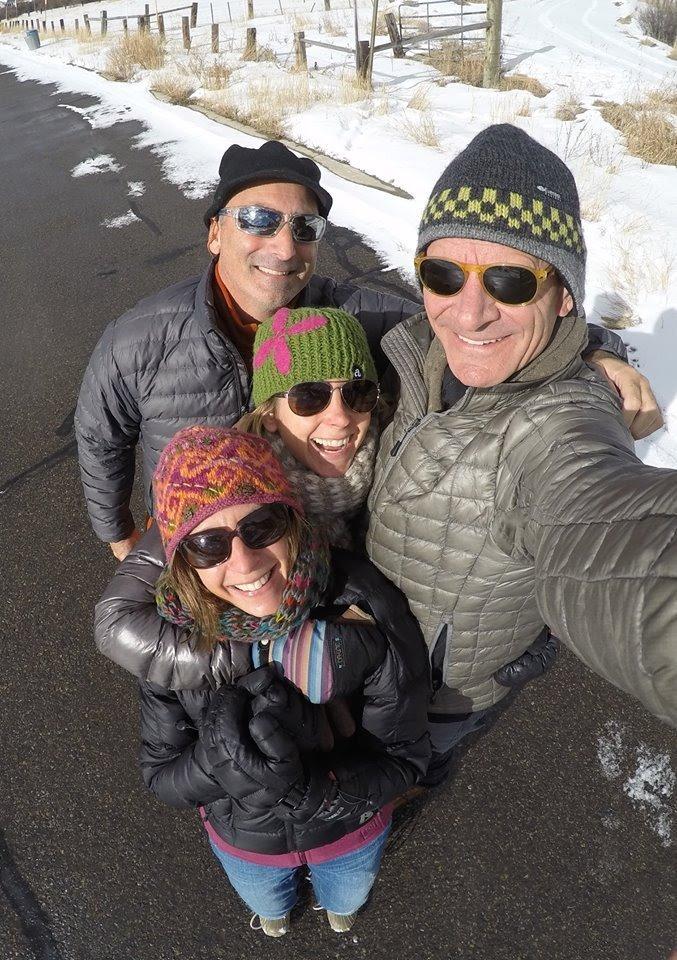 Dina and family