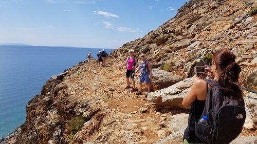 greece retreat hike