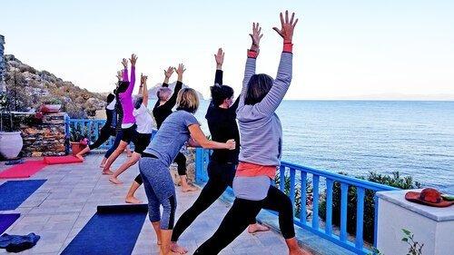 Greece retreat yoga