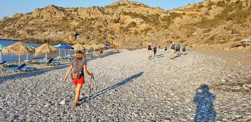 Greece retreat beach